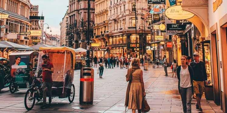 Austria-street-scene