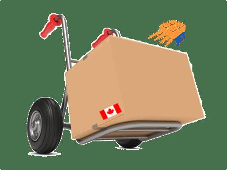 Box with wheels canada