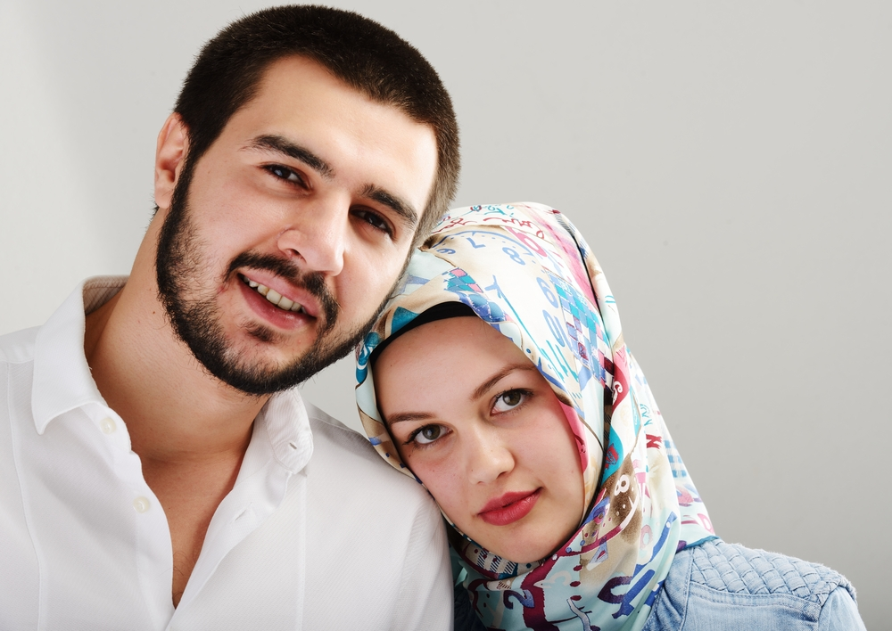 Arabic couple together-1