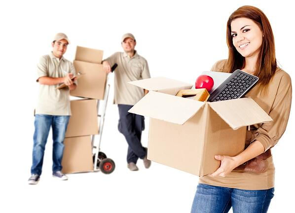 Guys helping a woman to move house - isolated over white.jpeg