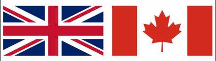 UK - Canada - Flag