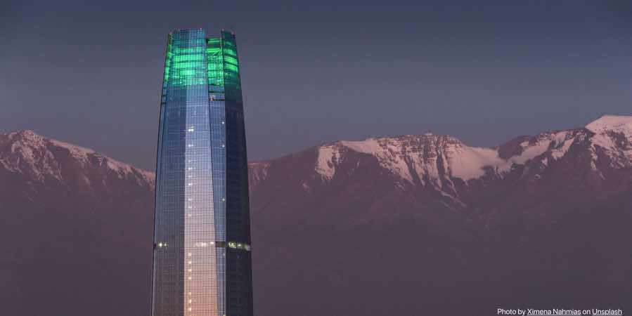 chile-satiago-tower-mountains