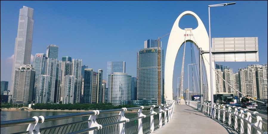 china-Liede Bridge-Guangzhou