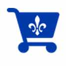 shopping-quebec-cart-vector-image