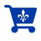 shopping-quebec-cart-vector-image
