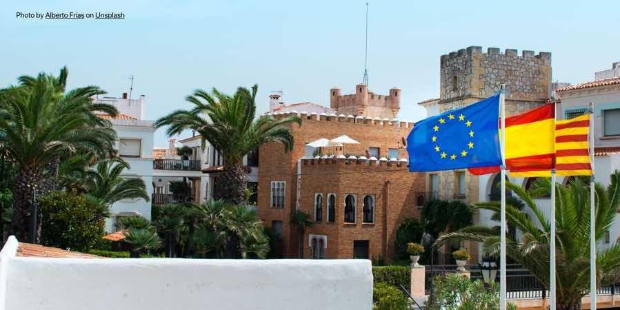 spain-catalonia-flags