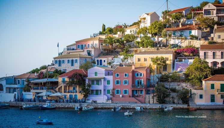 Low cost parcel shipping from Canada to Greece