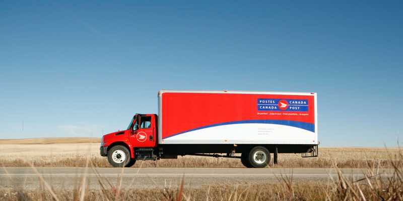 post-canada-truck